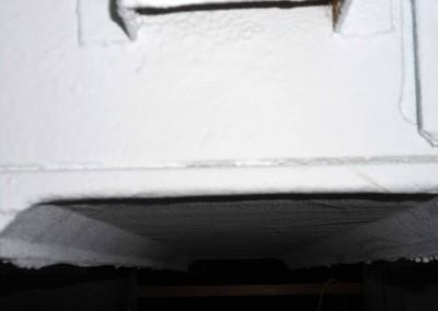L'isolation thermique et anti-condensation d'un four